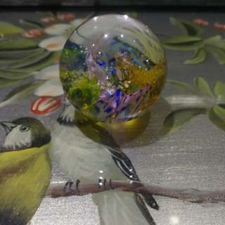 Scottish Beautiful Glass Paperweight