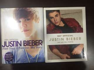 JUSTIN BIEBER OFFICIAL BOOKS