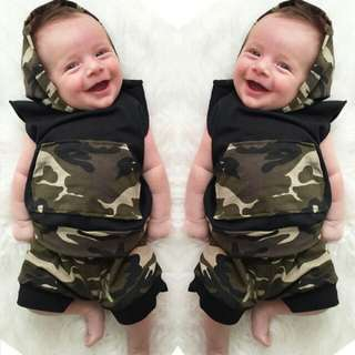 SET ROMPER BABY