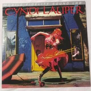 CYNDI LAUPER - SHE'S SO UNUSUAL MOFI SL