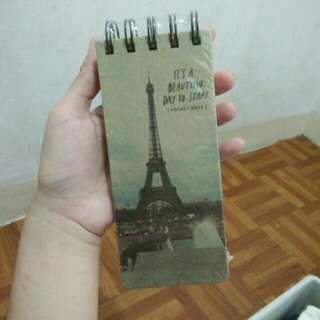 Paris Notepad