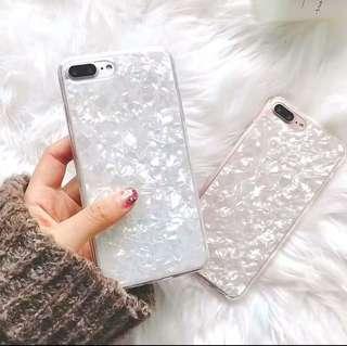 ❤️❤️珍珠白/珍珠粉貝母效果iphone蘋果手機殻