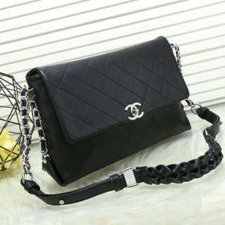 Chanel Handbag Black Color