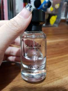 Zara woman cherry