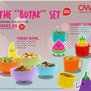 The Butak Set - Handy Bowl & Fresh Cup
