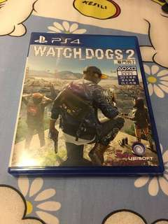 Ps4 Watchdogs2 中文
