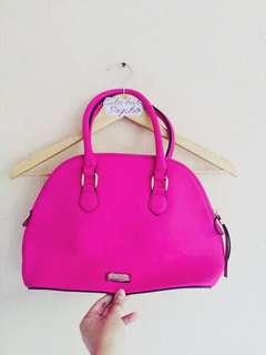 Fuschia Sling Bag