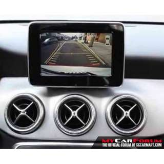 Mercedes Benz A/B/C/E/CLA/CLS/SLK/ML with NTG4.0-4.5 Reverse Camera