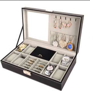 Watch Box with mirror