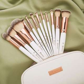 Sale! Rose Romance 12 Piece Brush Set by Bh Cosmetics