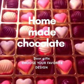 Home made choc
