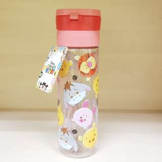 Disney Tsum Tsum Winnie the Pooh and Friends BPA Free Water Bottle 600ml With Handle