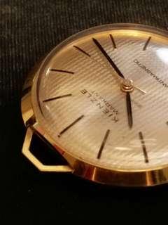德國KIENZLE金茨勒MARKANT機械上鏈古董懷錶