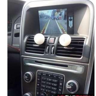 Volvo 2014-2015 reverse camera retrofit