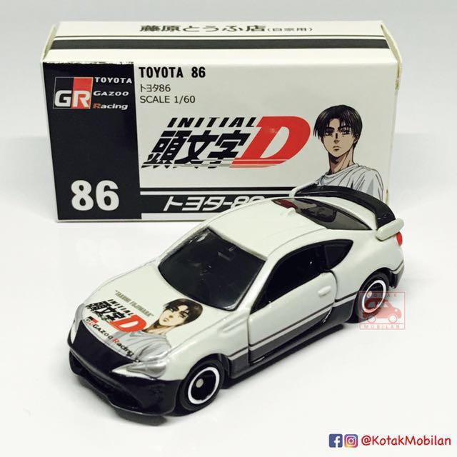 new tomica 86 toyota 86 initial d toys games bricks
