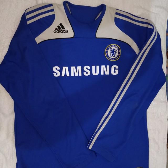 Adidas Chelsea Long Sleeve Jersey Chelsea Long Sleeve Jersey 18 19 43c339980