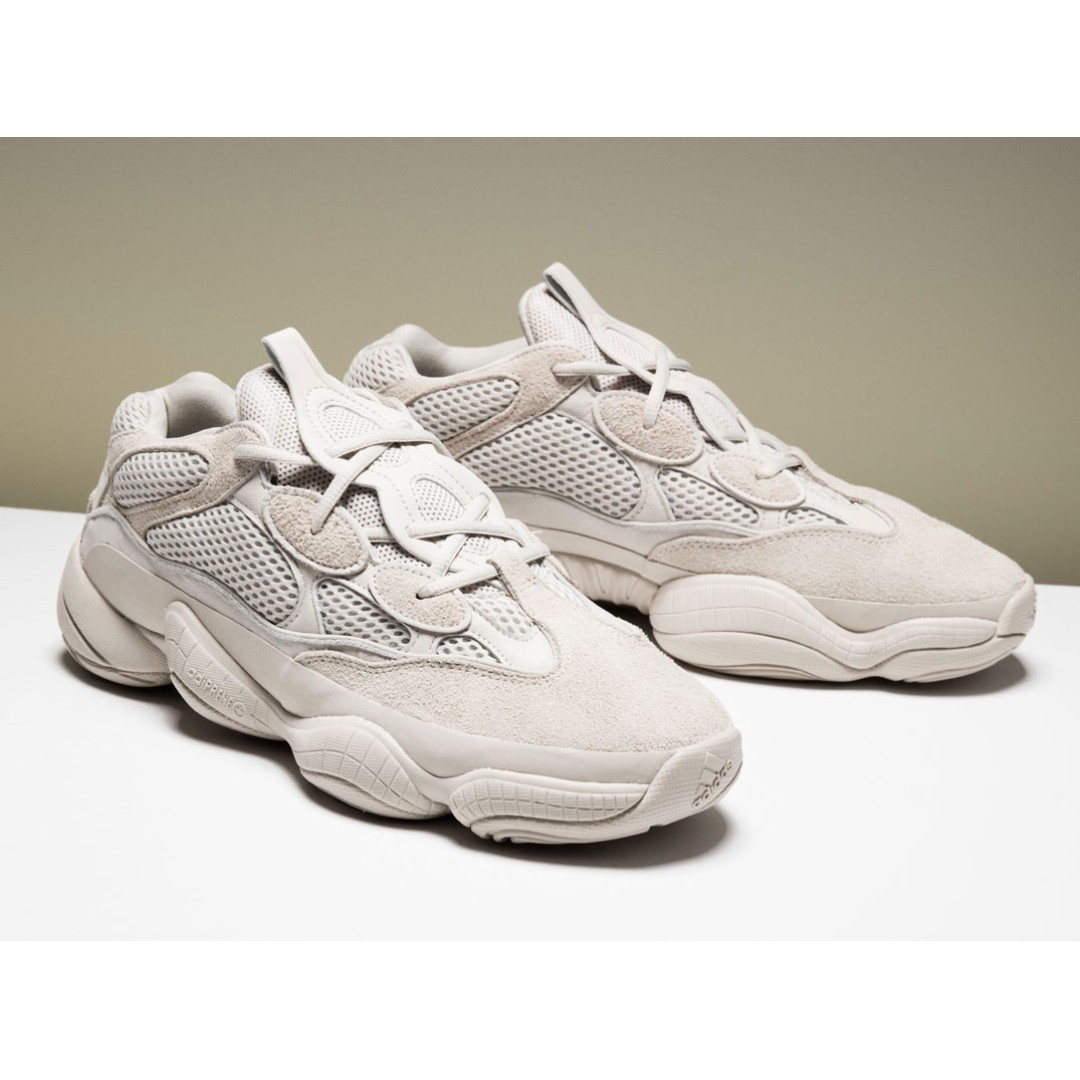 "75bc735af8fe8 Authentic Adidas Yeezy Desert Rat 500 ""Blush"""