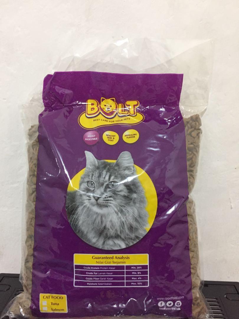 Bolt Makanan Kucing Pet Supplies Food On Carousell