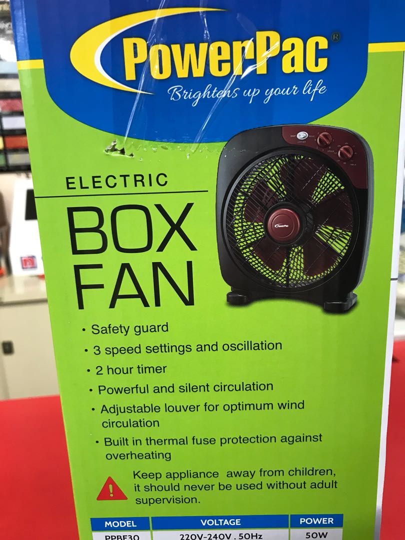 Box Fan Furniture Others On Carousell Fuse