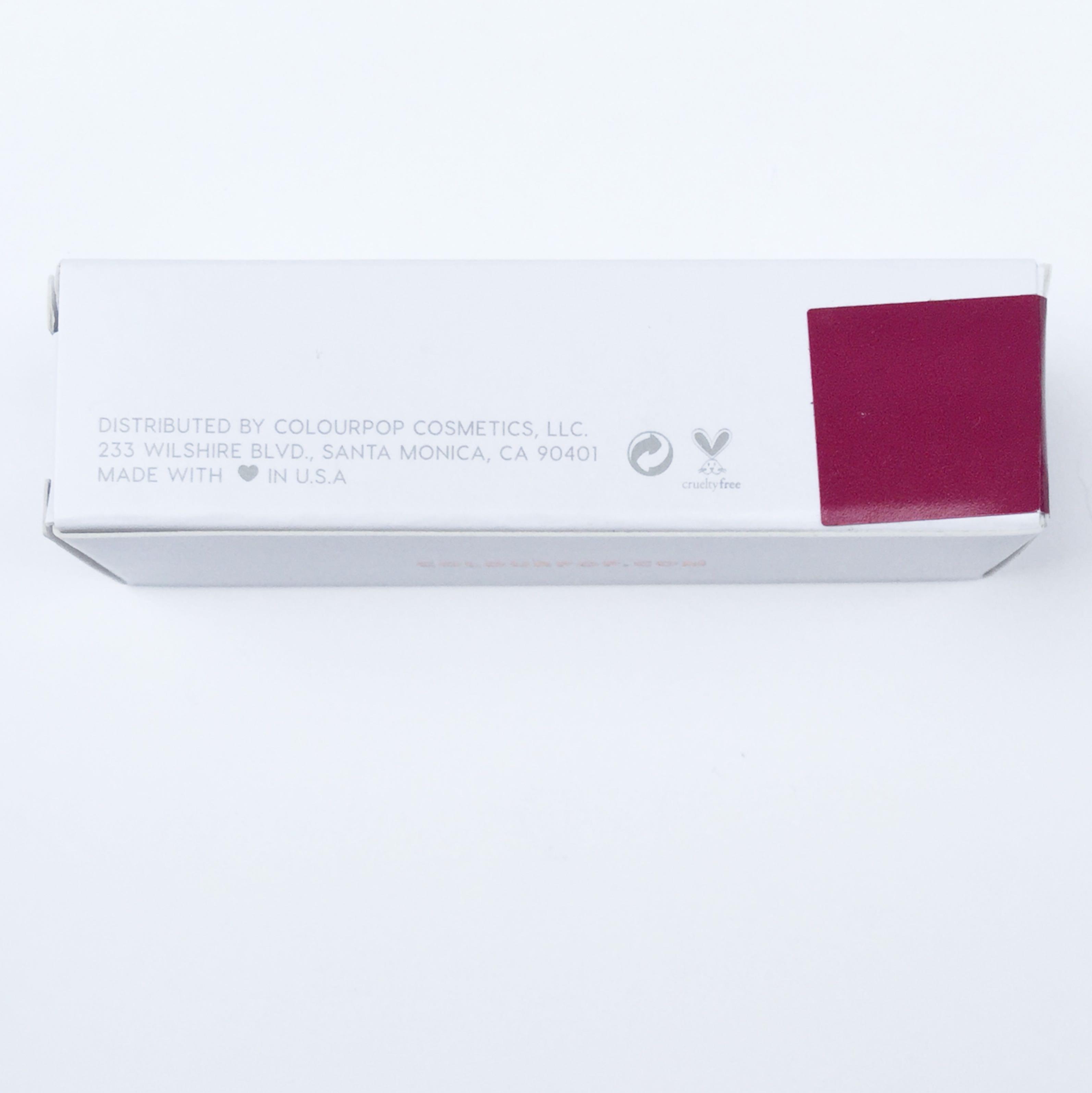 Brand New - ColourPop LUX Lipstick - Hello Stranger ❤️ AUTHENTIC