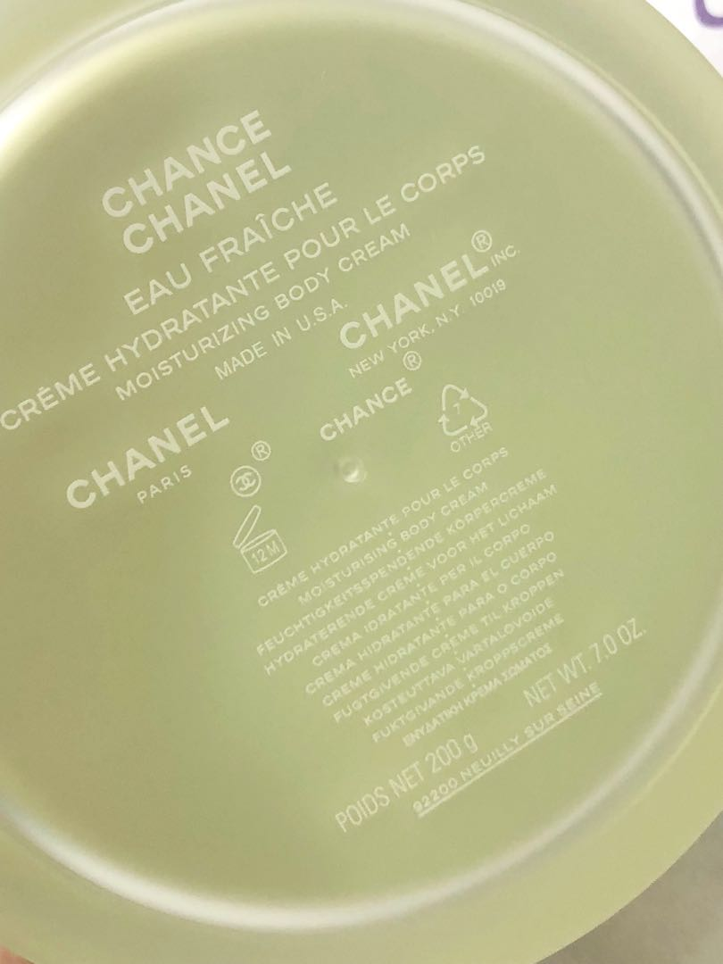 fbb49982c Chanel Chance Eau Fraiche body cream 200 grams, Health & Beauty, Perfumes,  Nail Care, & Others on Carousell