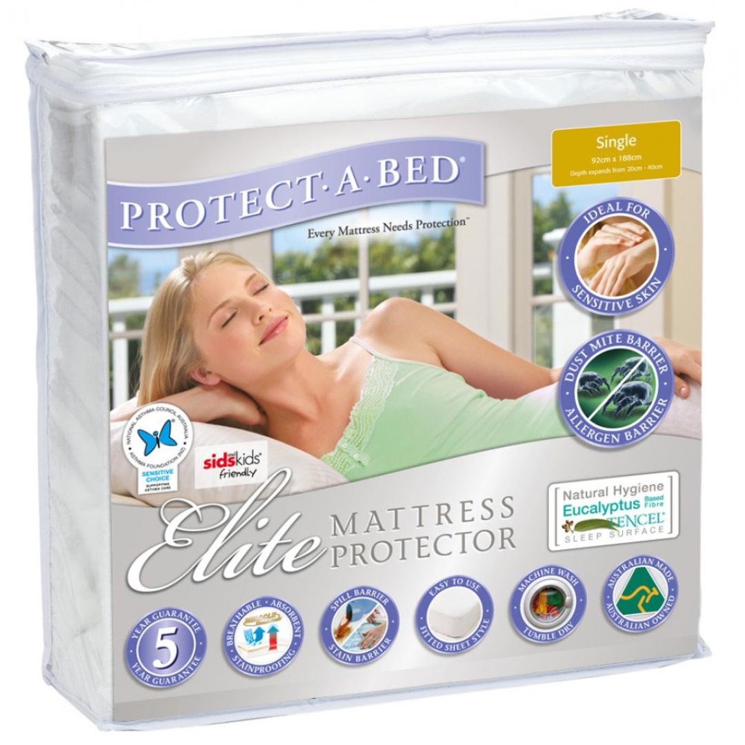 Elite Mattress Protector (King Single) - Brand New