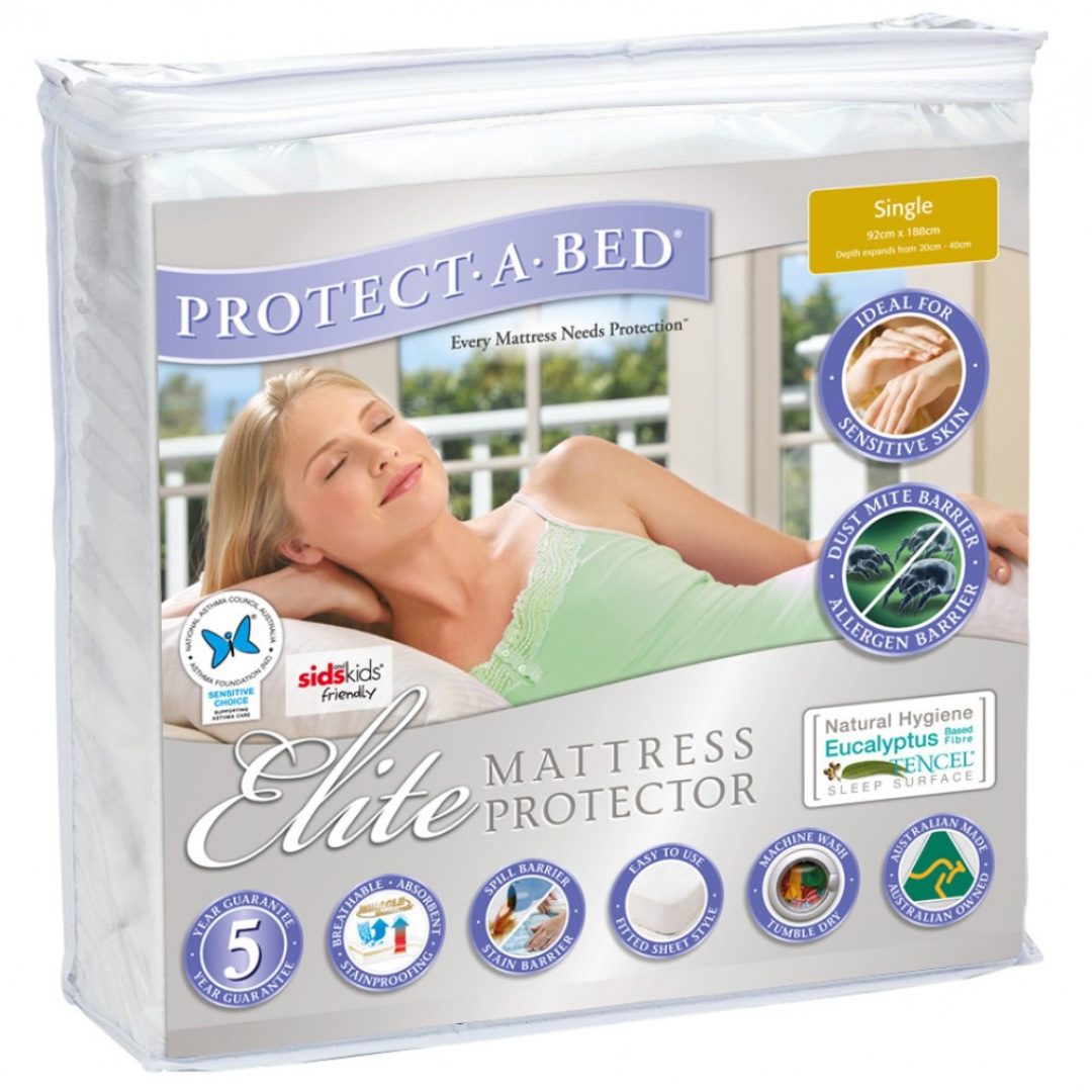 Elite Mattress Protector (Queen) - Brand New