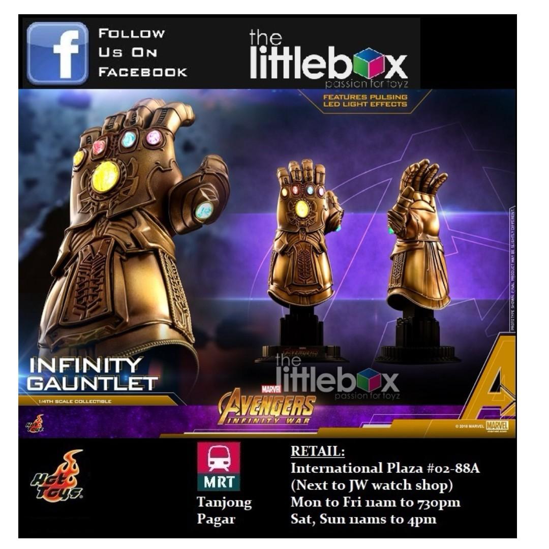 Stock Hot Toys Acs003 Avengers Infinity War Infinity Thanos