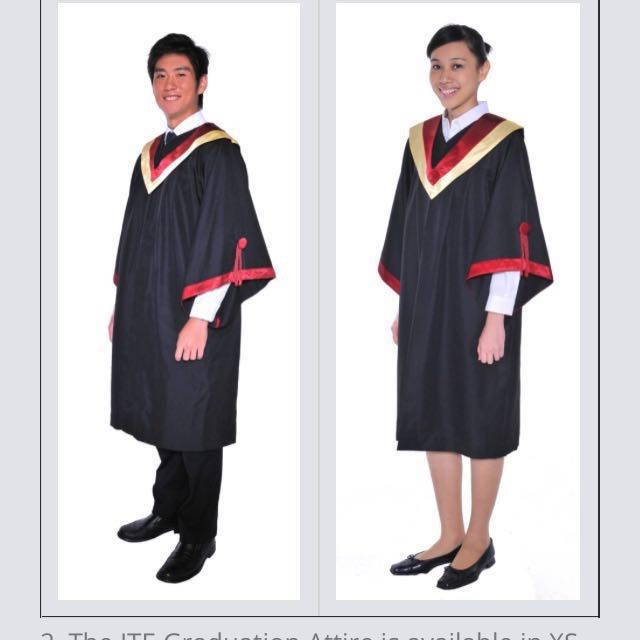 ITE GRADUATION GOWN **RENTAL**, Everything Else on Carousell