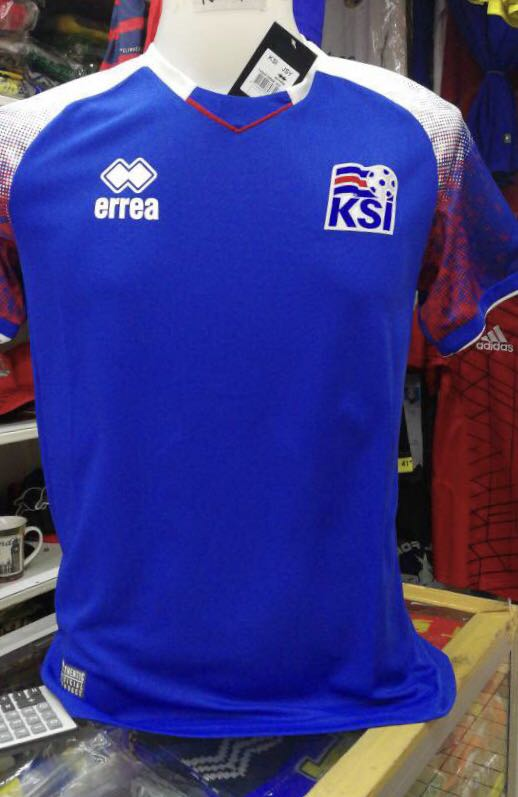 wholesale dealer a80d5 e0c83 Jersey ICELAND HOME world cup 2018