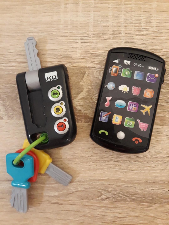Mainan Anak Bayi Kunci Dan Hp Kids Toy Vtech Elc Fisher Price