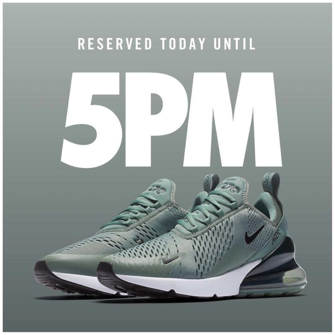 4db71e46c3 Men's Nike Air Max 270|CLAY GREEN, Men's Fashion, Footwear, Sneakers ...