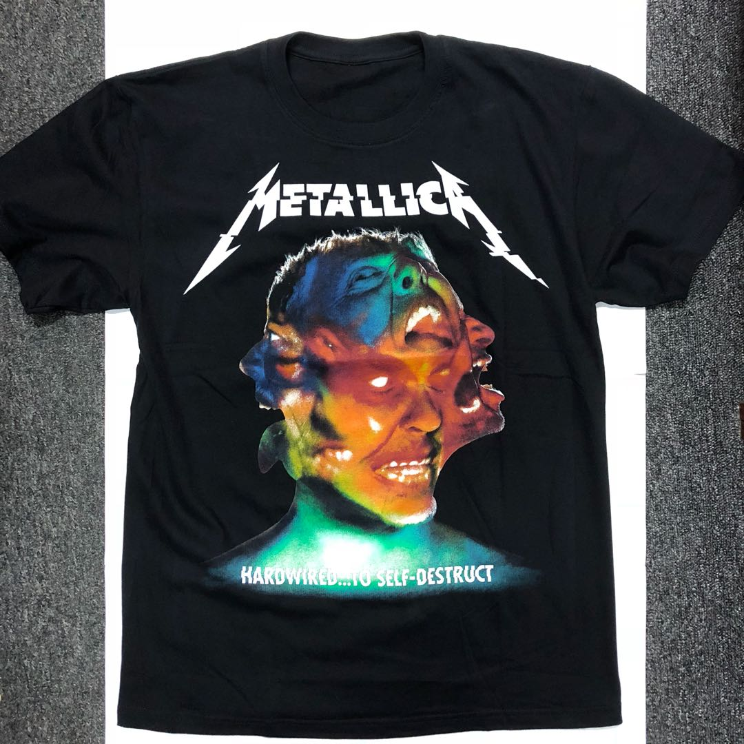 b8ce2f190 ... Metallica Hardwired to Self Destruct T shirt S M Men s Fashion