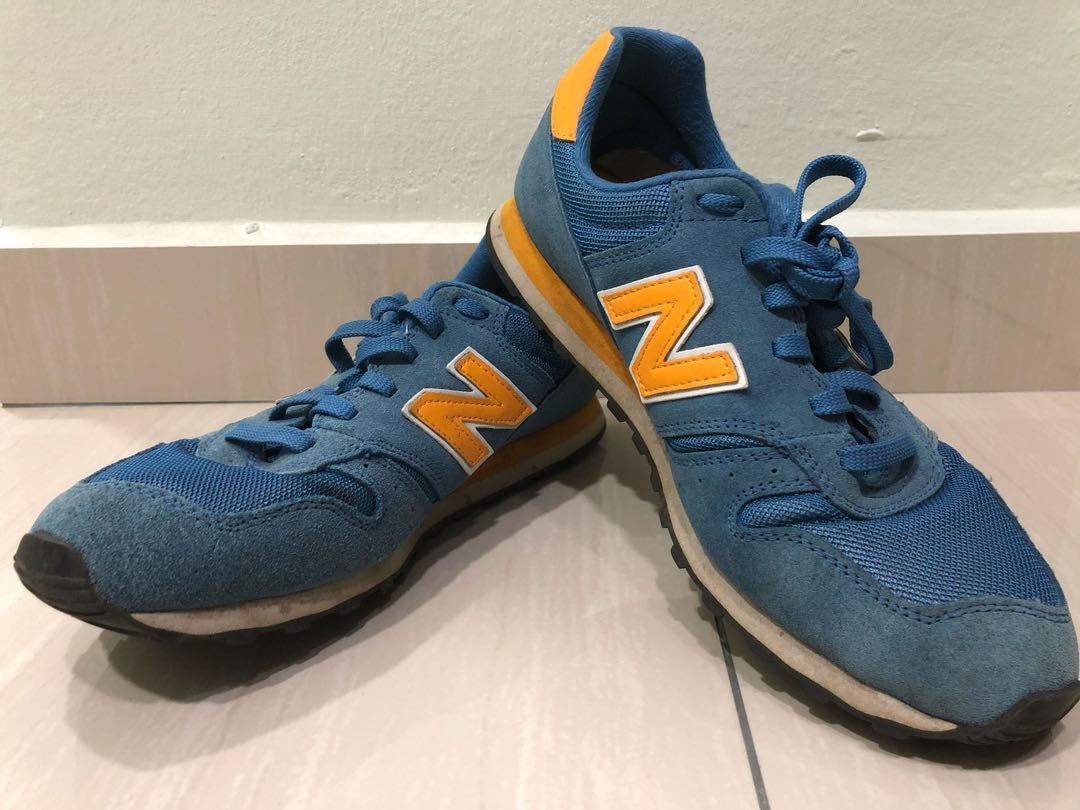 new balance 373 blue yellow
