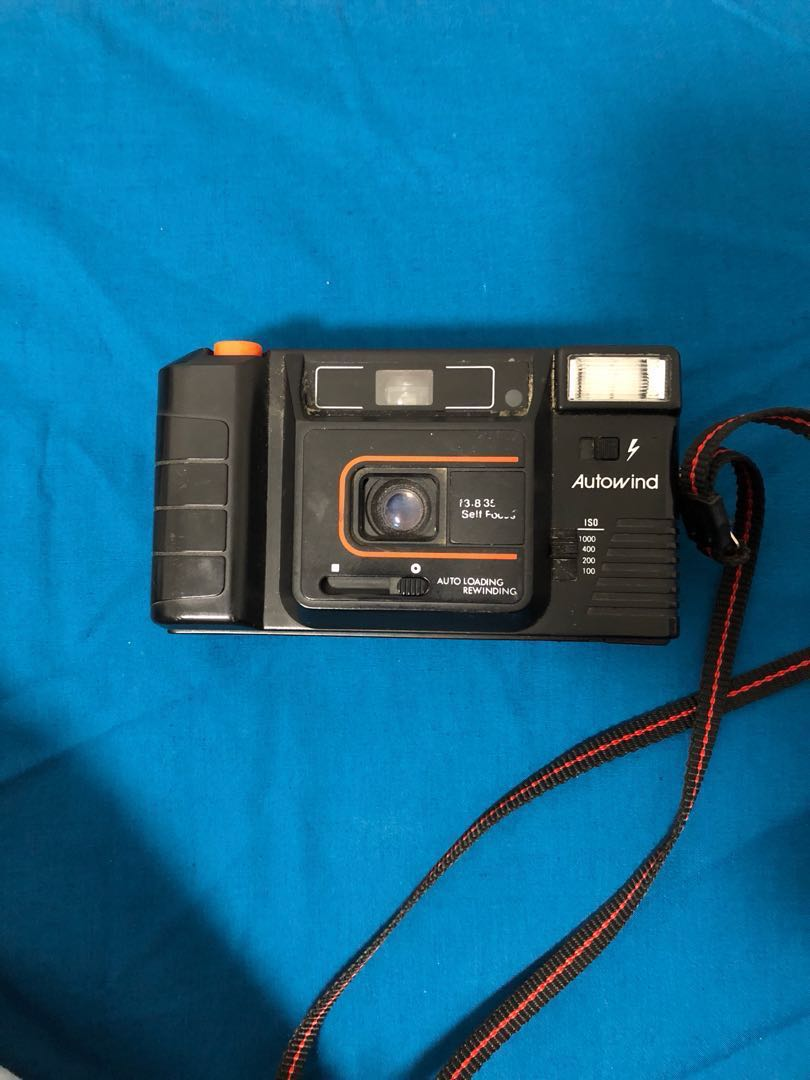 Point & shoot film cameras
