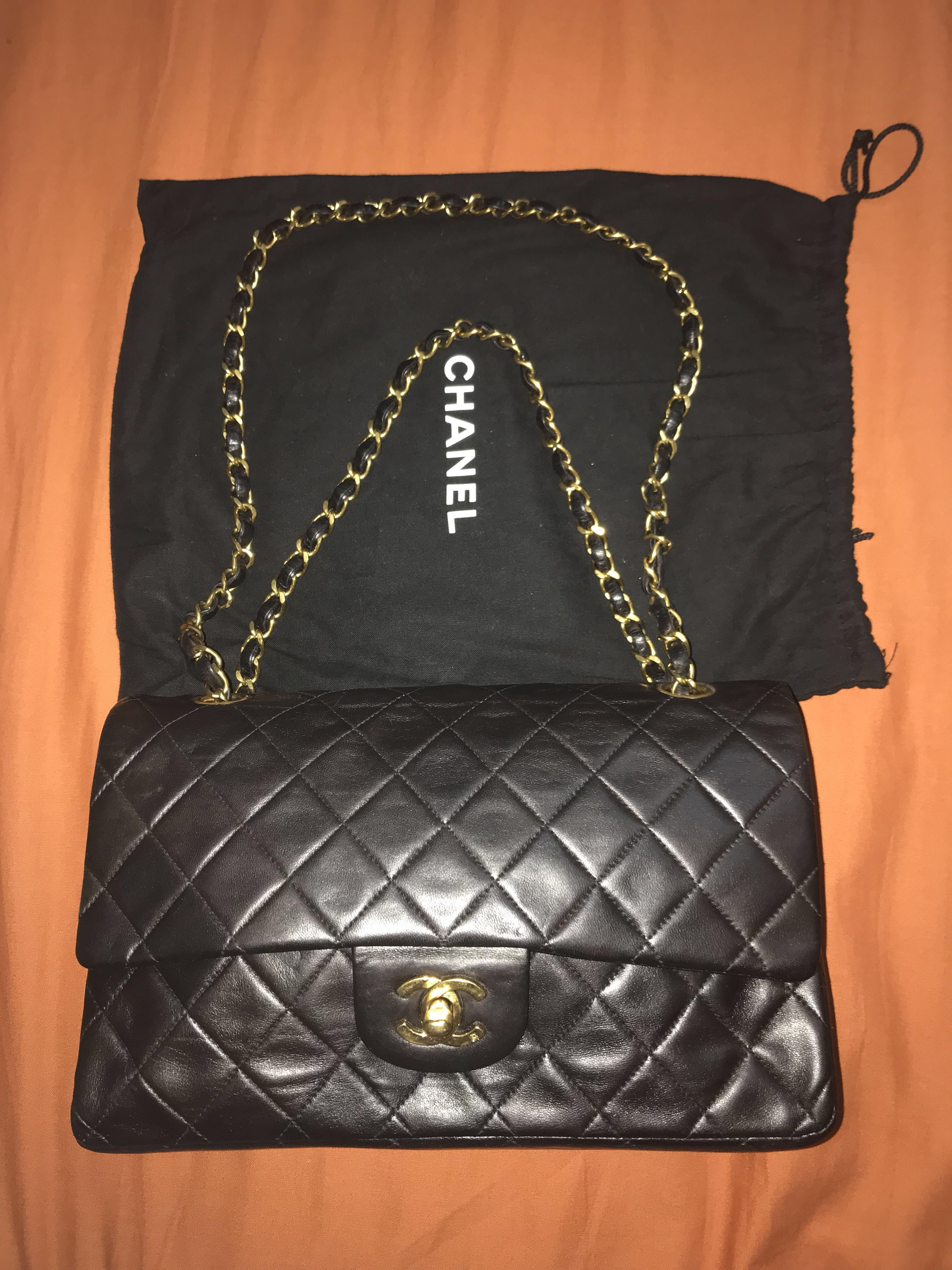 34591d8482fd Preloved Chanel Classic Flap Vintage, Luxury, Bags & Wallets on ...
