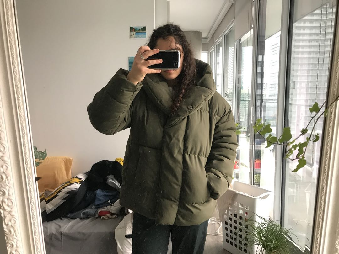 PRICE DROP - Super warm puffer jacket