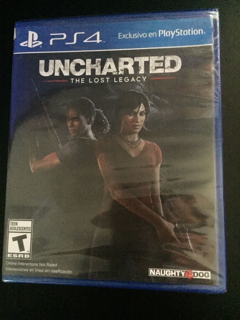 Ps4 Uncharted The Lost Legacy New Toys Games Video Gaming Ps4uncharted 4 A Thief End Reg 3 All Photo