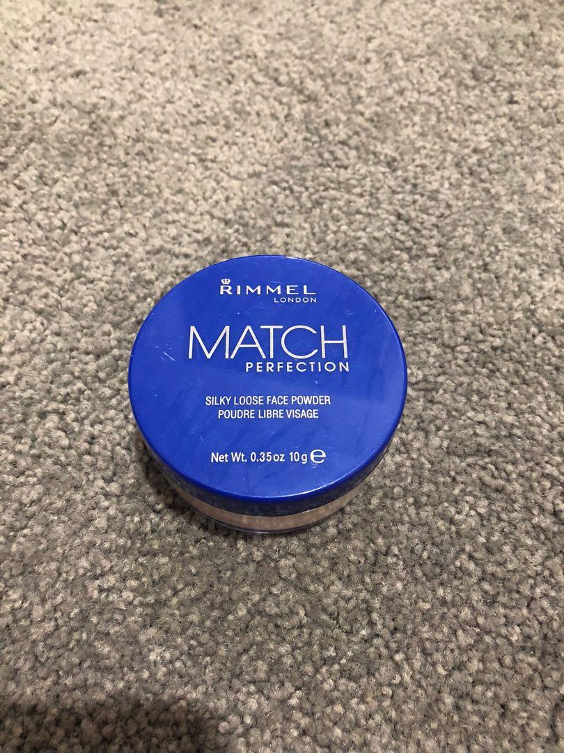 Rimmel Match Perfection powder