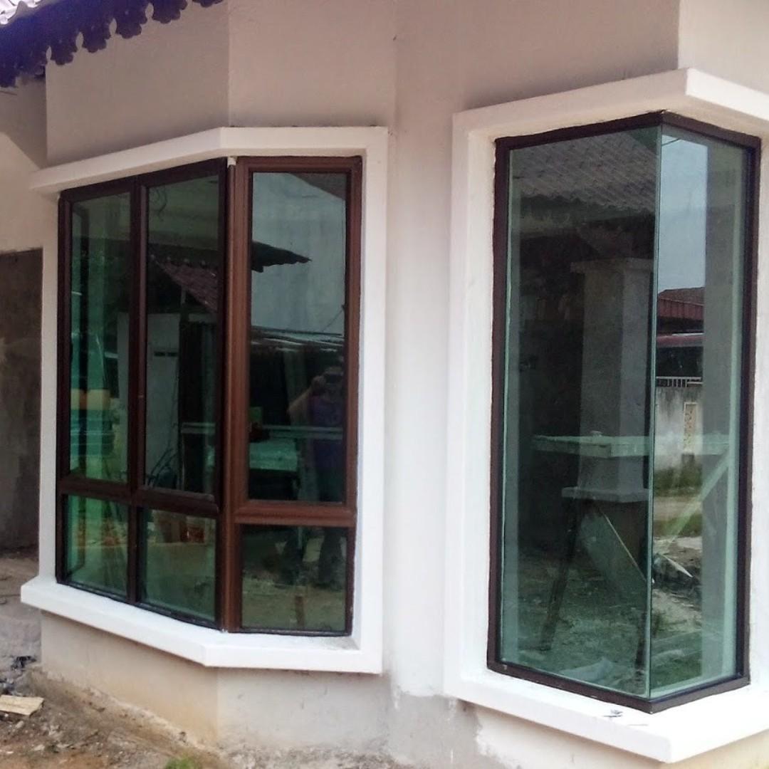 Aluminium Dan Cermin Banglo Kelantan