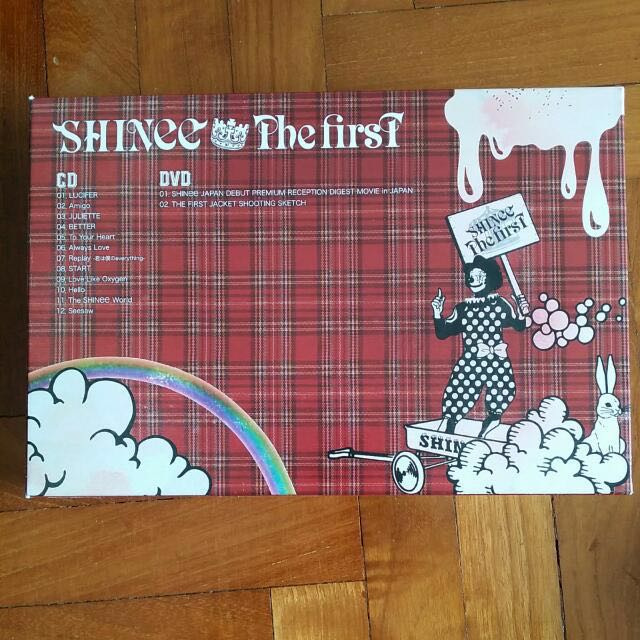 SHINee The First (Special Box Set - Limited Edition)