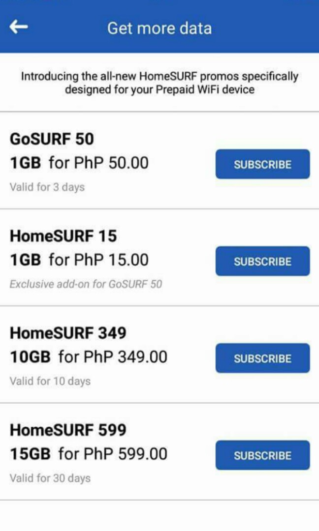 SPECIAL PROMO! GLOBE PREPAID INTERNET!, Electronics, Others
