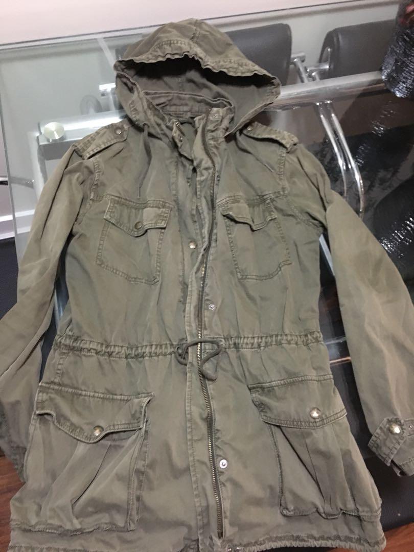 Talula green jacket small