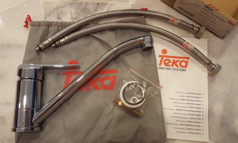 Teka Inca Kitchen Mixer Tap, Kitchen & Appliances on Carousell