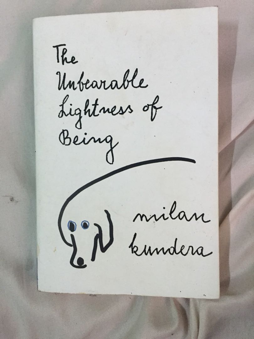 The unbearable lightness of being books books on carousell photo photo photo fandeluxe Image collections