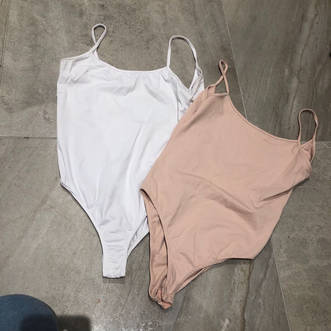 Two Zara bodysuits