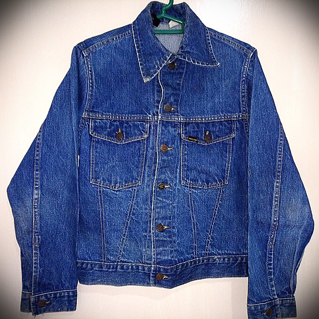 2466d62e9f Vintage Sears Roebucks Selvedge Denim Jacket