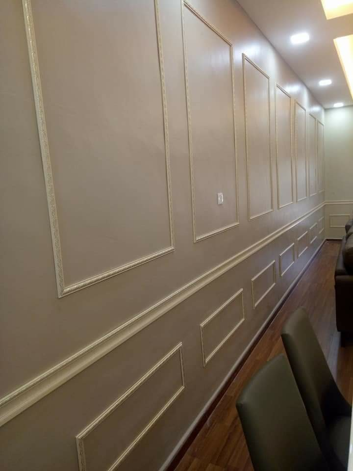Wainscoting murah, Home & Furniture, Home Décor on Carousell on