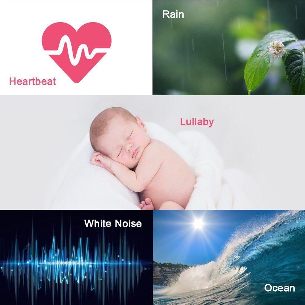 White Noise Machine,THZY Portable Sleep Sound Machine with 5