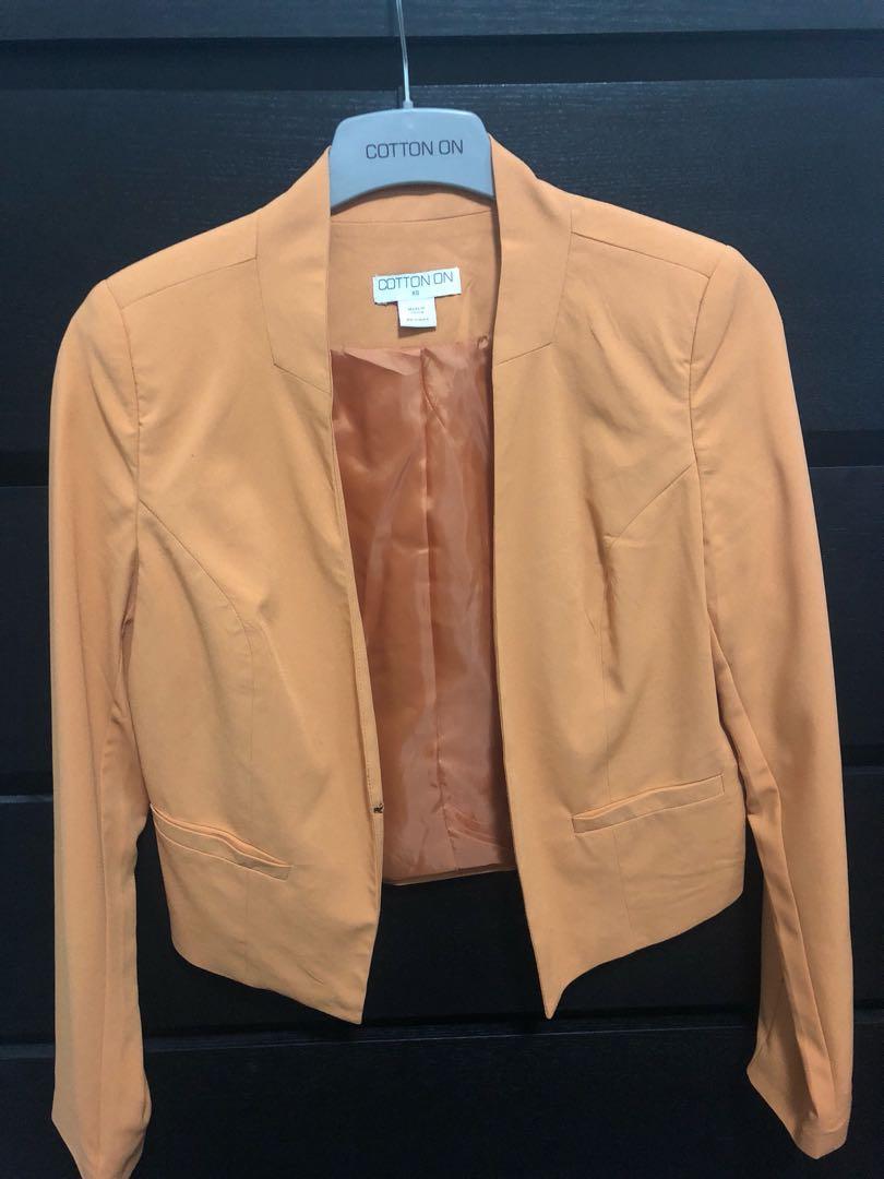 Women's Mustard Jacket XS 8